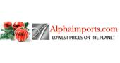 Alphaimports Promo Code