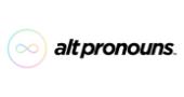 Alt Pronouns Promo Code